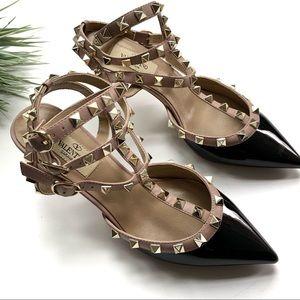Valentino Shoes - Valentino Garavani Rockstud 65 Strappy Pumps